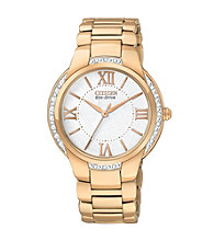 Citizen® Women's Goldtone Eco Drive