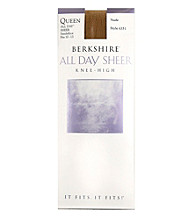 Berkshire® Queen All Day Leg Knee High Sandalfoot Pantyhose