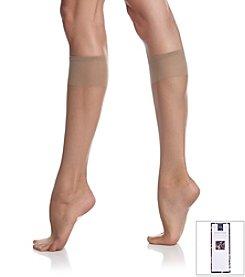 Berkshire® Ultra Sheer Knee High Sandalfoot - City Beige
