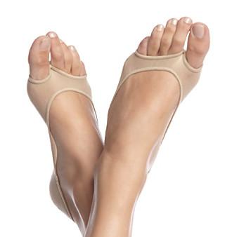HUE® Perfectly Bare Peep-Toe Liners
