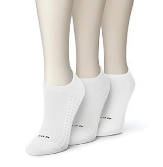 HUE® Air Cushion No Show Socks 3-Pack