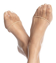 HUE® Perfectly Bare Toe Covers - Pale Beige