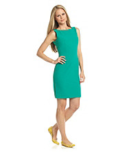 Calvin Klein Double-Sided Zipper Sheath Dress
