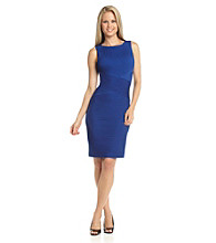 Calvin Klein Seamed Sheath Dress