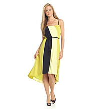 Calvin Klein Striped Colorblock Dress