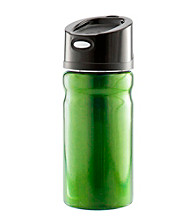 Zak Designs® 12oz Black POP Lid on Vista Double Wall Stainless Steel Vacuum Travel Tumbler