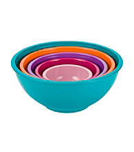 Zak Designs® Assorted Solid Colored Bowls
