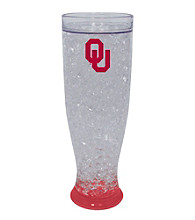 TNT Media Group University Of Oklahoma Sooners Ice Pilsner Glass