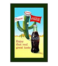 "Trademark Fine Art ""Coke Pause Cactus"""