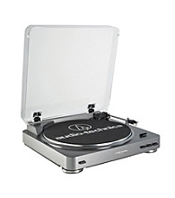Audio-Technica® Fully Automatic Belt-Drive Turntable with USB Output