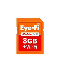Eye-Fi 8GB Mobile Wireless Memory Card