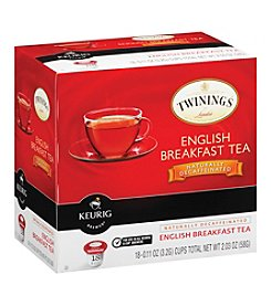 Keurig Twinings English Breakfast Tea Naturally Decaffeinated 18-pk. K-Cups®