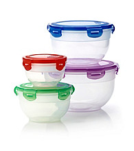 Farberware™ Microban® 8-pc. Clear Round Storage Set