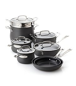 Cuisinart® 13-pc. Black Contour Hard-Anodized Cookware Set + FREE BONUS GIFT see offer details