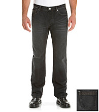Calvin Klein Jeans® Men's Black Powder Coat Slim Denim