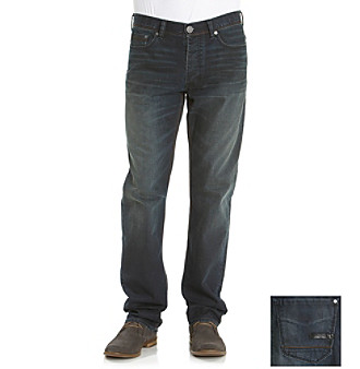 Calvin Klein Jeans® Men's Dark Wash Slim Straight Denim