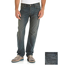 Calvin Klein Jeans® Men's Resin Blue Slim Straight Denim