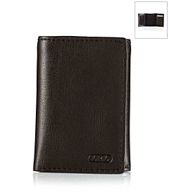 Lauren® Men's Oil-Milled Leather Trifold Wallet