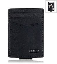Lauren® Men's Black Oil-Milled Money Clip
