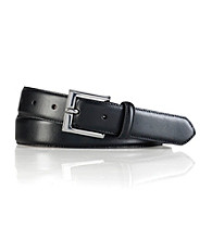 Lauren® Men's Black Standard Strap Leather Belt