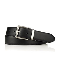 Lauren® Men's Black/Brown Reversible Leather Belt