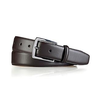 Lauren® Men's Wide Strap Leather Belt