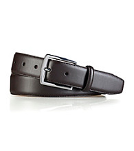 Lauren® Men's Wide Strap Leather Belt