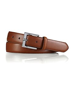 Lauren® Men's Tan Standard Strap Leather Belt