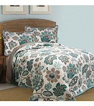 Ikat Floral Quilt Collection by Bay Linens