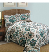 Ikat Floral Comforter Set by Scent-Sation, Inc.