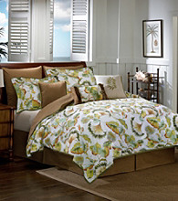 Caribbean Floral Comforter Set by Scent-Sation, Inc.