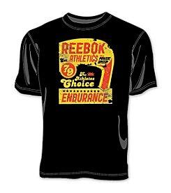 Reebok® Men's Big & Tall Black Retro Athletics Tee