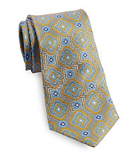 Gold Series™ Men's Big & Tall Gold Moroccan Lantern Silk Tie