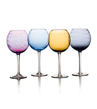 Mikasa® Cheers Color Set of 4 Goblets