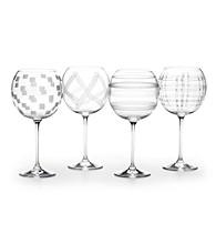 Mikasa® Expression Set of 4 Balloon Glasses