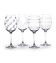Mikasa® Expression Set of 4 White Wine Glasses