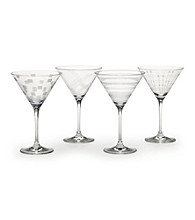 Mikasa® Expression Set of 4 Martini Glasses