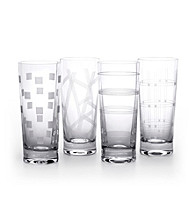 Mikasa® Expression Set of 4 High-Ball Glasses