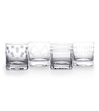 Mikasa® Expression Set of 4 Double Old Fashion Glasses