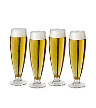 Mikasa® Brewmaster Set of 4 Pilsner Glasses