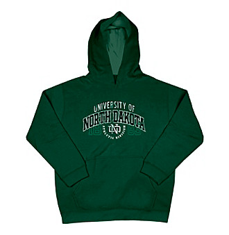 J. America® Boys' 8-20 Green University of North Dakota Pullover Fleece Hoodie