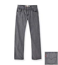 Levi's® Boys' 8-20 514™ Old Grey Slim Straight Jeans