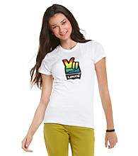 Levi's® Juniors' Peace Sign Graphic Tee
