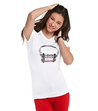 Levi's® Juniors' Headphones Graphic Tee