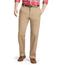 Izod® Men's Slim Fit Flat Front American Chino