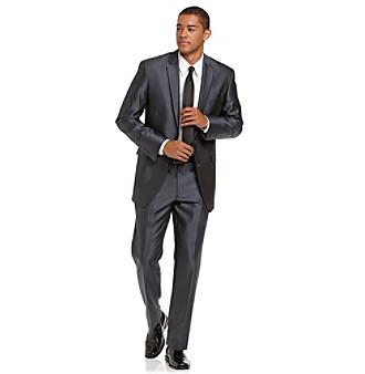 Billy London® Men's Blue Microbone Suit Separates