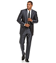 Billy London® Men's Blue Microbone Suit Separates