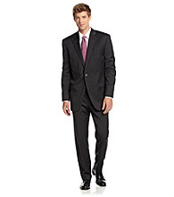 Lauren® Men's Black Pinstripe Suit Separates
