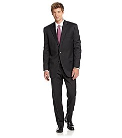 Lauren Ralph Lauren Men's Black Pinstripe Suit Separates