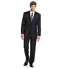 Calvin Klein Men's Black Suit Separates